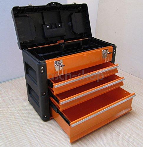 Mit Werkzeugkiste Schubladen (METALL Werkzeugkiste mit 7 Funktionen B3061BC von AS-S)