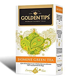 Golden Tips Jasmine Green Tea, 40g
