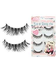 Tonsee® 5 Pairs/Lot Crisscross False Eyelashes Lashes Voluminous beauty eye lashes