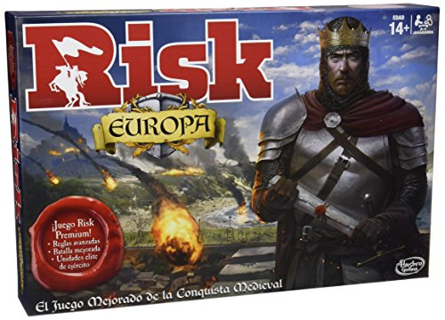 Games - Risk Europa (Hasbro B7409105)