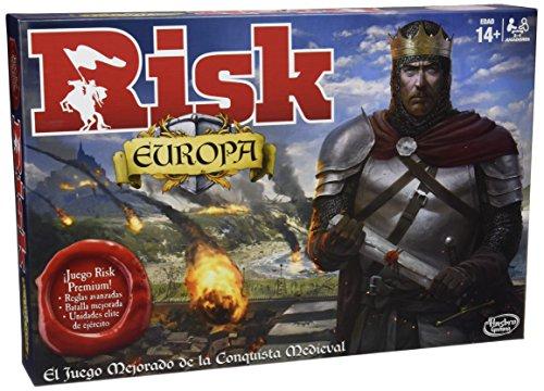 Games - Risk Europa Hasbro B7409105