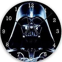 AUX Prix Canons–Reloj de pared Sonora Star Wars Darth Vader Swag de cristal