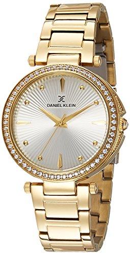 Daniel Klein Analog Silver Dial Women's Watch - DK11055-1
