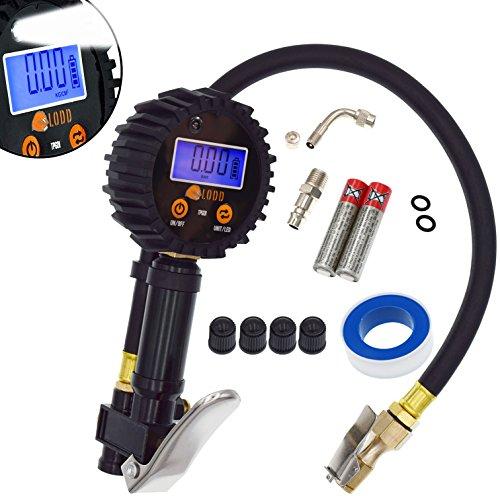 LODD-Manometro-digitale-pistola-di-gonfiaggio-e-controllo-pressione-pneumatici-con-display-digitale-LCD-ad-alta-precisione-lampada-a-LED-integrata-e-valigetta-di-trasporto