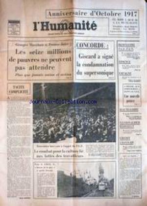 humanite-l-du-05-11-1976-anniversaire-doctobre-1917-rene-piquet-guy-besse-g-marchais-16-millions-de-