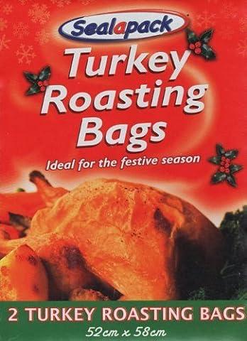 Türkei Bratbeutel–Pack von 2