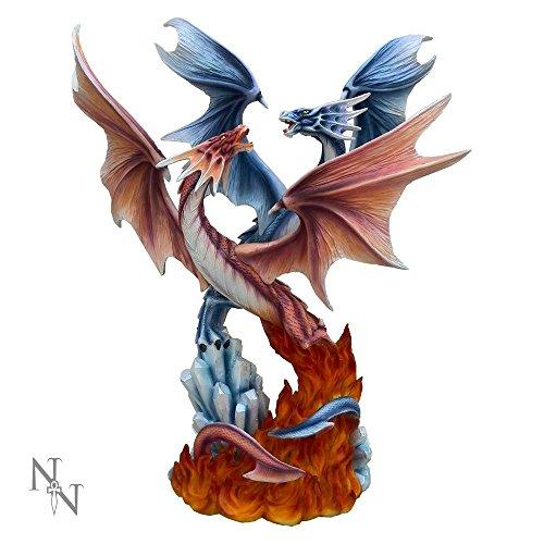 Nemesis Now-Danza del Dragone elementi Figurine