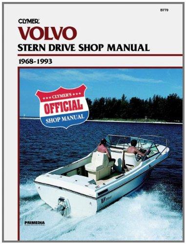 Clymer - Volvo Penta S / D 68 93 Handbuch -