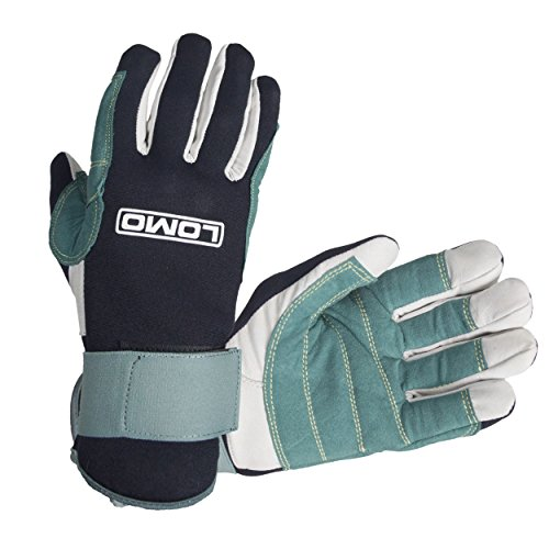 Lomo Winter Sailing Gloves, Nero, XXL