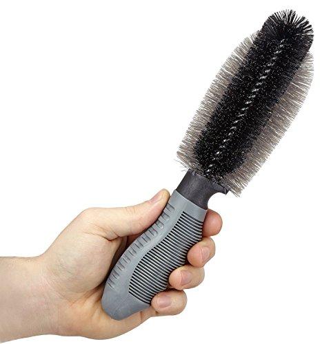 Lavaggio auto pulizia cerchioni rotella spazzola capelli spazzola accessori auto