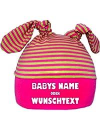 Kleiner Fratz 2-Zipfel Mütze Baby Kinder Jungen Mädchen Babymütze Hat mit Ihrem Wunschtext
