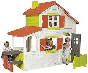 smoby 320023 haus garten duplex spielzeug. Black Bedroom Furniture Sets. Home Design Ideas