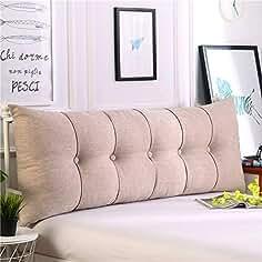 HAOLY Algodón y Ropa de Cama Rectangular Cabeza Amortiguador,Respaldo Grande sofá Triangular,Tatami