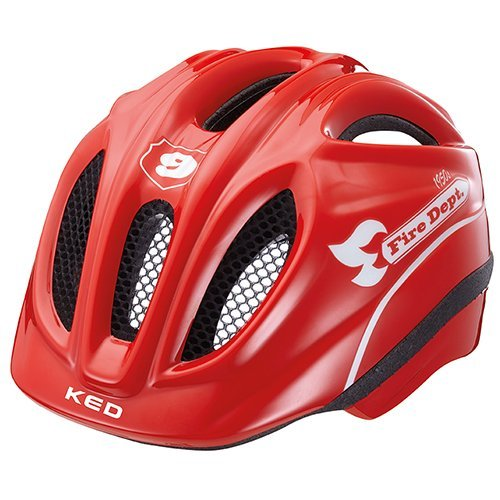 KED Fahrradhelm Meggy Fire in der Größe S/M - Allrounder-Helm in Robuster maxSHELL- Technologie