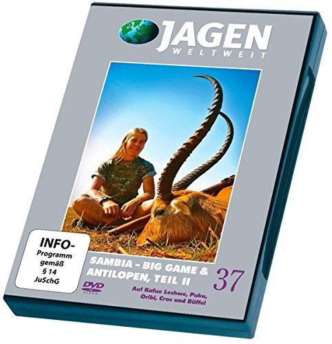 Preisvergleich Produktbild Sambia - Big Game & Antilopen, Teil 2 - JAGEN WELTWEIT DVD Nr. 37: Auf Kafue Lechwe,  Puku,  Oribi,  Croc und Büffel