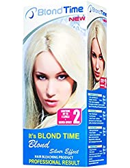Blond time blond silver effect producto para el blanqueamiento del pelo