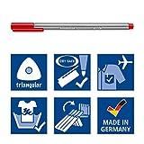 STAEDTLER 334 C36JB  0.3 mm Triplus Fineliner Pens, Adult Colouring Packaging, Assorted Colours, Pack of 36