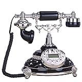 XM Xiao Mi Guo Ji Festnetztelefon - Einfaches Retro-verdrahtetes Telefon, manuell 镗 festes Telefon, festverdrahtetes Harztelefon (24 X 25X24CM) &&