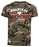 aprom T-Shirt Philippinen Pilipinas Camouflage Army NC D03
