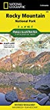 National Geographic Trails Illustrated Map Rocky Mountain National Park [Lingua Inglese]