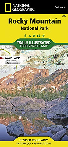 Rocky Mountain National Park (National Geographic Trails Illustrated Map, Band 200) (Boot-rocky)