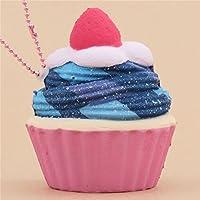 Squishy-Anhänger galaxiefarbener Cupcake Sammy the Patissier
