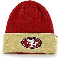 San Francisco 49ers Gold Cuff 2-Tone Monroe Beanie Hat -