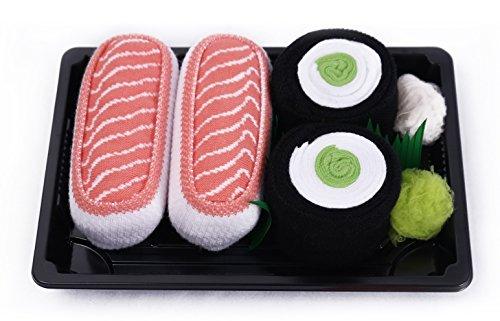 i-calzini-sushi-2-paia-di-calze-cetriolo-maki-salmone-un-regalo-straordinario-lottima-qualita-i-nume