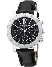 a4deeddb1e9  Bulgari  Bvlgari reloj bb38bsldch burugariburugari Cronógrafo Negro  Hombres de  paralelo mercancías de importación