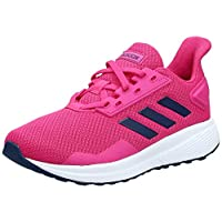 Adidas Duramo 9, Unisex Kids' Sneakers, Blue (Real Magenta/Dark Blue/Ftwr White), 2.5 UK, (35 EU),F35102