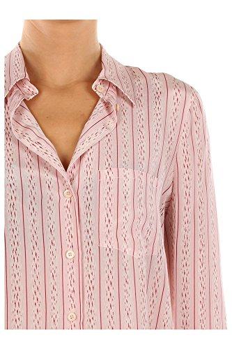 P4916ROSA Prada Chemises Femme Soie Rose Rose