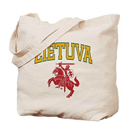 CafePress–Lituania–Gamuza de bolsa de lona bolsa, bolsa de la compra, lona, caqui, Medium