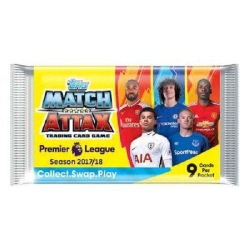 Match Attax Trading Karten 2017–2018