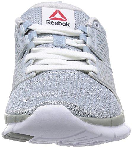 Reebok Zquick Dash Damen Laufschuhe Grau (Baseball Grey/White-Gp)