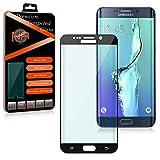 Panzerglas Glas Curve Full Cover Samsung Galaxy S6 Edge Plus Schutzglas Schwarz