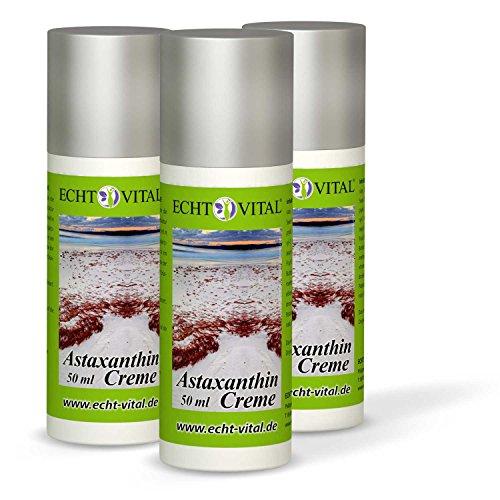 ECHT VITAL ASTAXANTHIN CREME - 3 Dispenser mit je 50 ml