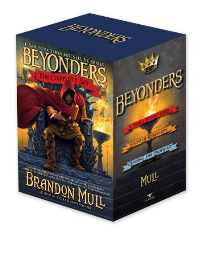 Beyonders The Complete Set: A World Without Heroes; Seeds of Rebellion; Chasing the Prophecy by Brandon Mull (2013-03-12)