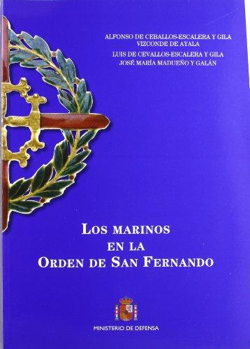 Los marinos en la Orden de San Fernando