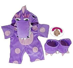 Construya su Bears Armario 15-Inch Ropa Fit Construye un Disfraz de Oso Little Dragón