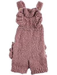 Bigood Ensemble Bébé Tricot Combinaison Costume Déguisement Photo Hiver