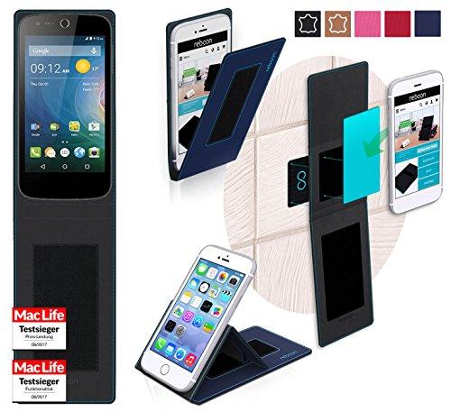 reboon Hülle für Acer Liquid Z320 Tasche Cover Case Bumper | Blau | Testsieger