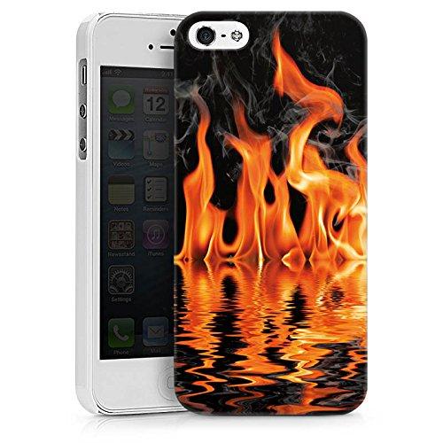 Apple iPhone X Silikon Hülle Case Schutzhülle Feuer BBQ Grillen Hard Case weiß
