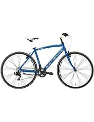 'Bicicleta Híbrida Cicli Adriatica Boxter Fy de hombre con marco de aluminio, ruedas de 28, Shimano 21velocidades, turquesa