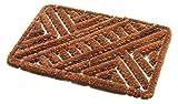 Addis Ultra Tuff Kratzen Fußmatte mit Draht Duo Mix, natürliche Kokosfaser, 60x 40cm
