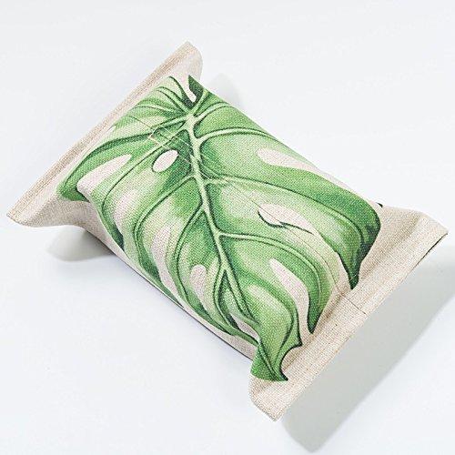 andea-pflanze-leinen-tissue-box-wohnzimmer-tissue-sets-regenwald-taschentuch-papierschachtel-papiert
