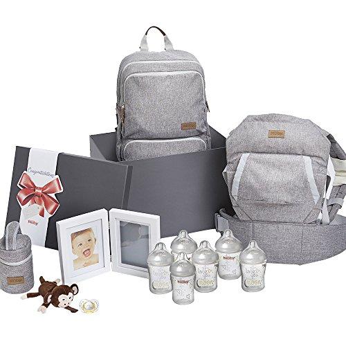 Nuby Babyutensilien-Geschenk-Set für Babypartys und Andenken