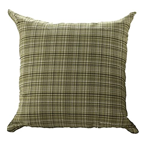 ZXKEE Cushion Covers European Country Style Light Green Home Throw Pillow Case 18