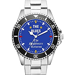 KIESENBERG® Watch - THE BLUES - The Nightmare Returns - Wristwatch 6003