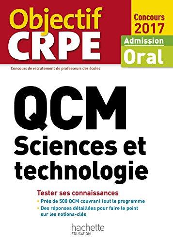 QCM CRPE : Sciences et technologie