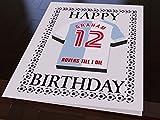 League One Football Club Kühlschrank Magnet Geburtstag Karten–Jeder Name, beliebige Farben,., Blackburn Rovers FC